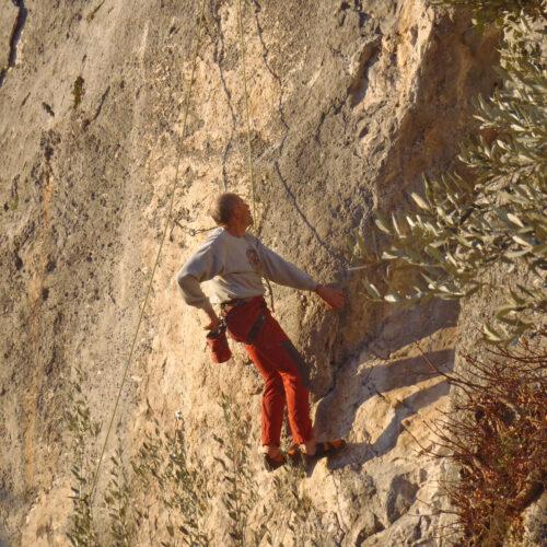 Arrampicata in Valle del Menotre